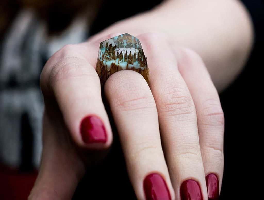 Krása ročných období zakonzervovaná v drevených prsteňoch