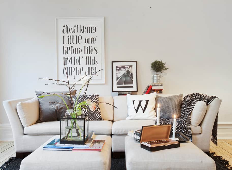 Škandinávsky nábytok a škandinávsky interiér