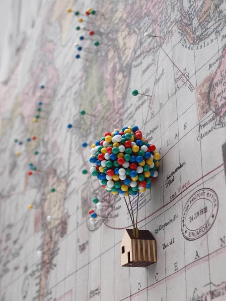 dom s balónom