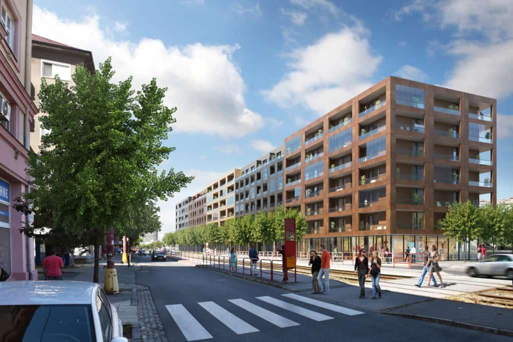 koncept apartmánového bývania.