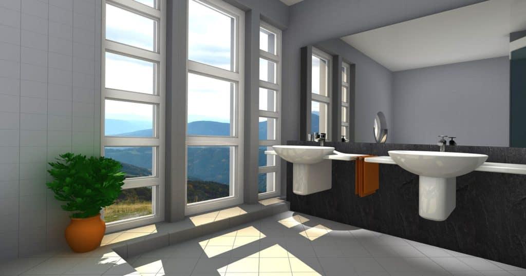 Prerábka kúpeľne vizualizácia