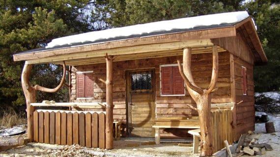 Záhradný domček oceníme najmä v zime