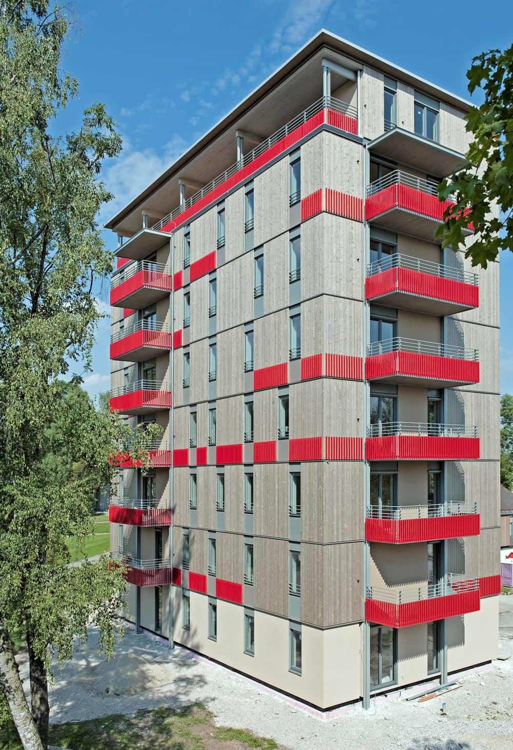 8-poschodový bytový dom