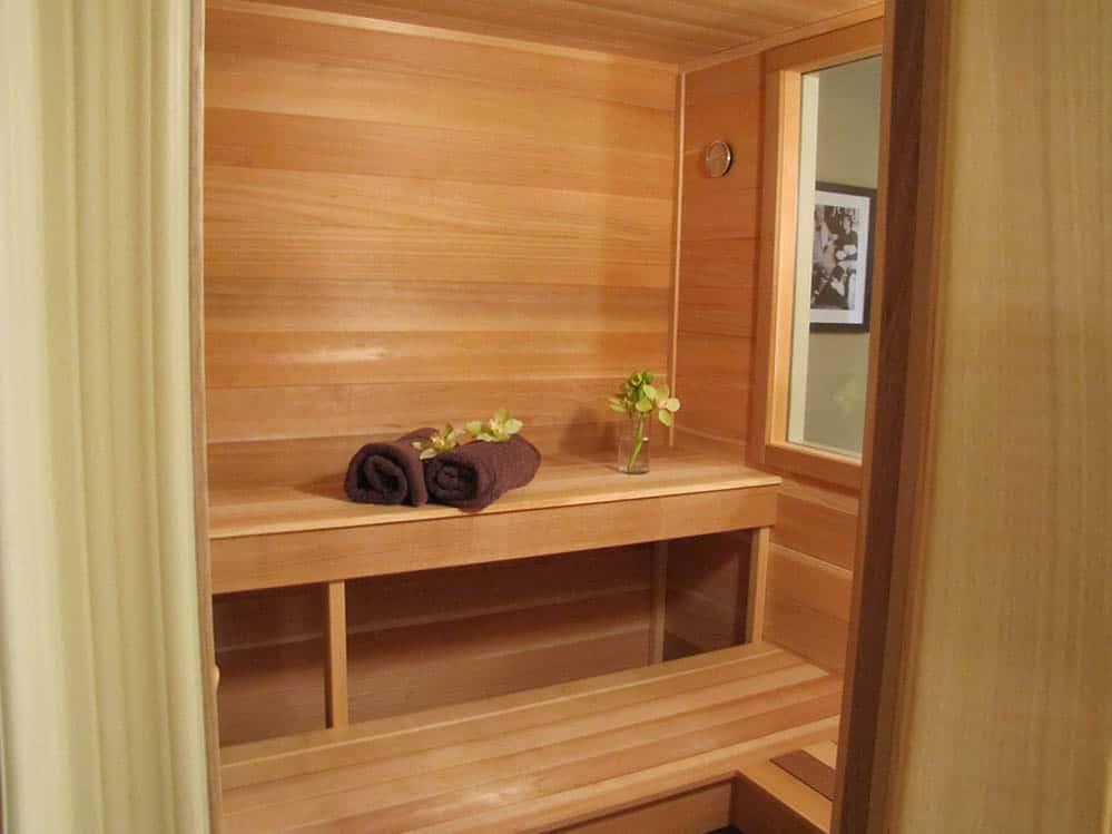 Sauna v byte
