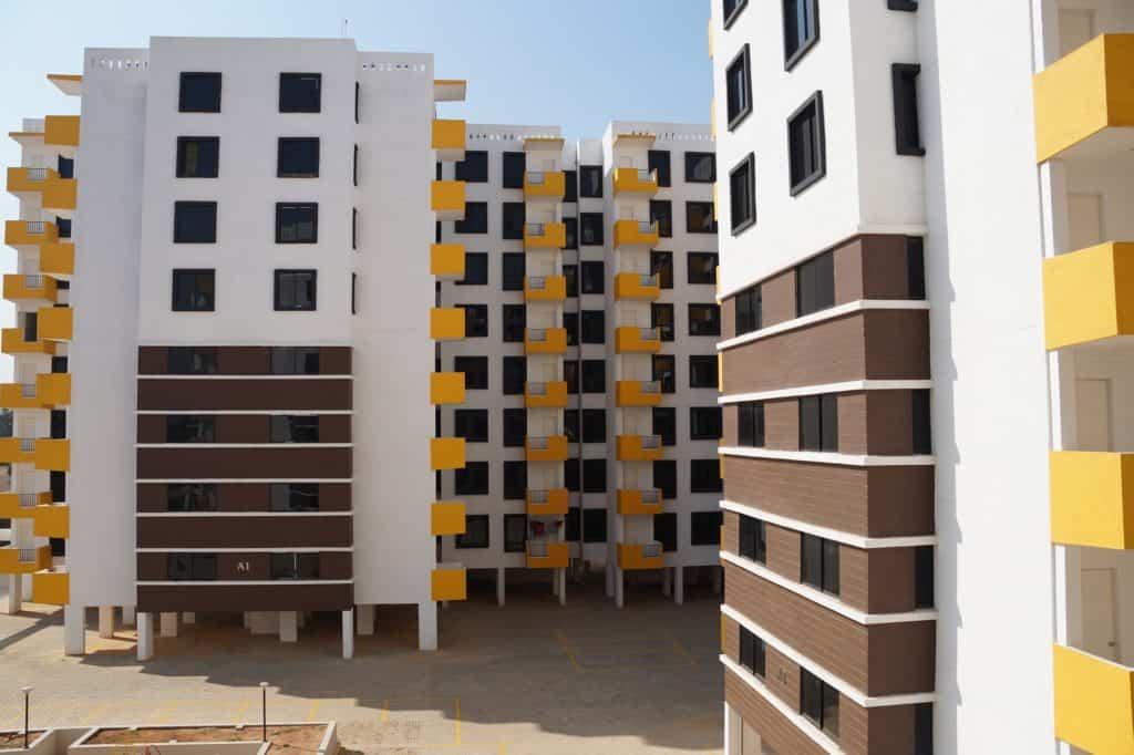 Novostavba panelového domu