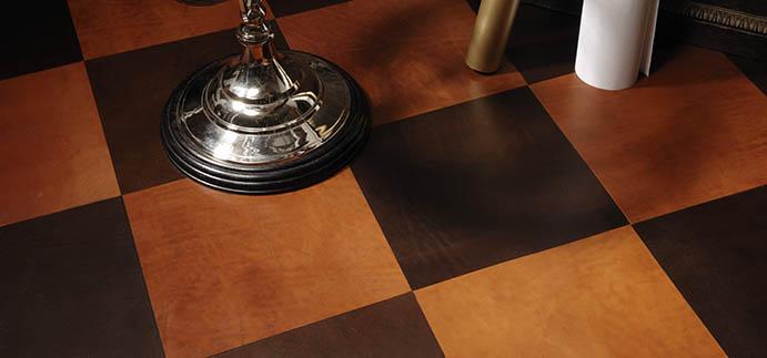 Kvalitná kožená podlaha