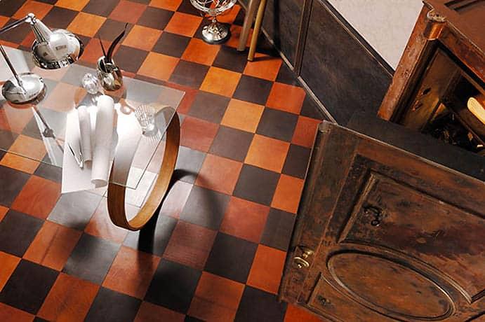 Kožené podlahy