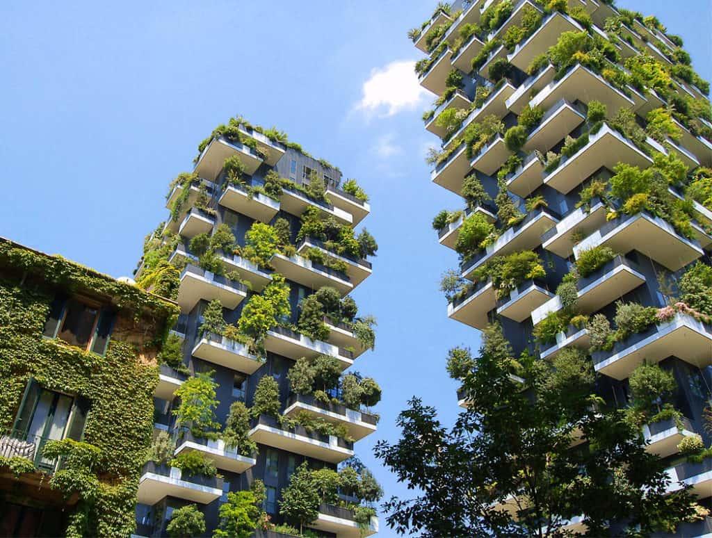 Zelená inšpirácia – fasády plné stromov