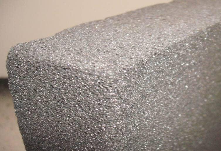 Penové sklo je relatívne novým materiálom