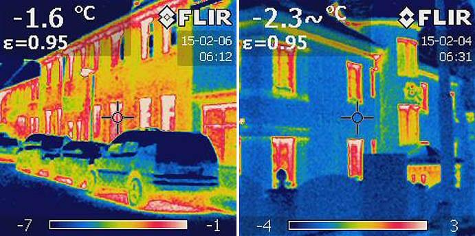 Snímanie termokamerou