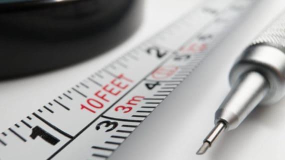 Dvakrát meraj, raz rež: Ako správne používať metre a pásma
