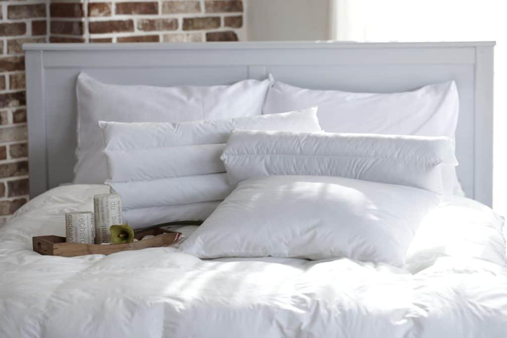 Svetlé farby posteľnej bielizne