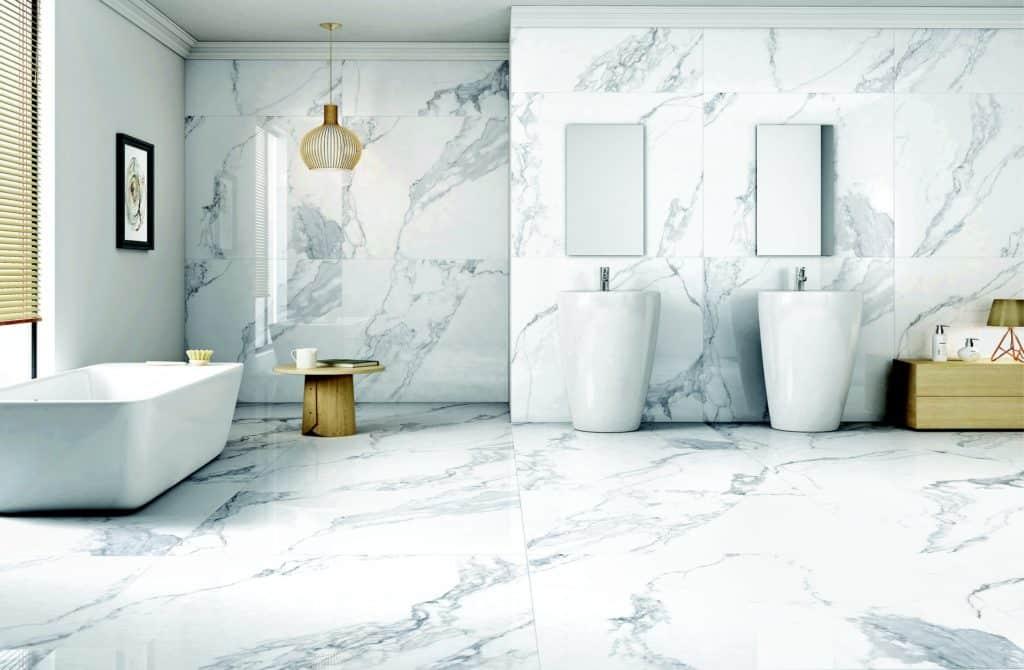 Mramorová kúpeľňa - mramor v interiéri