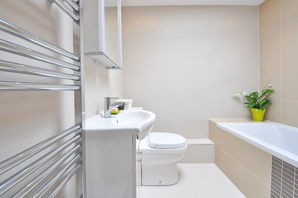 Kúpeľňa v puristickom štýle