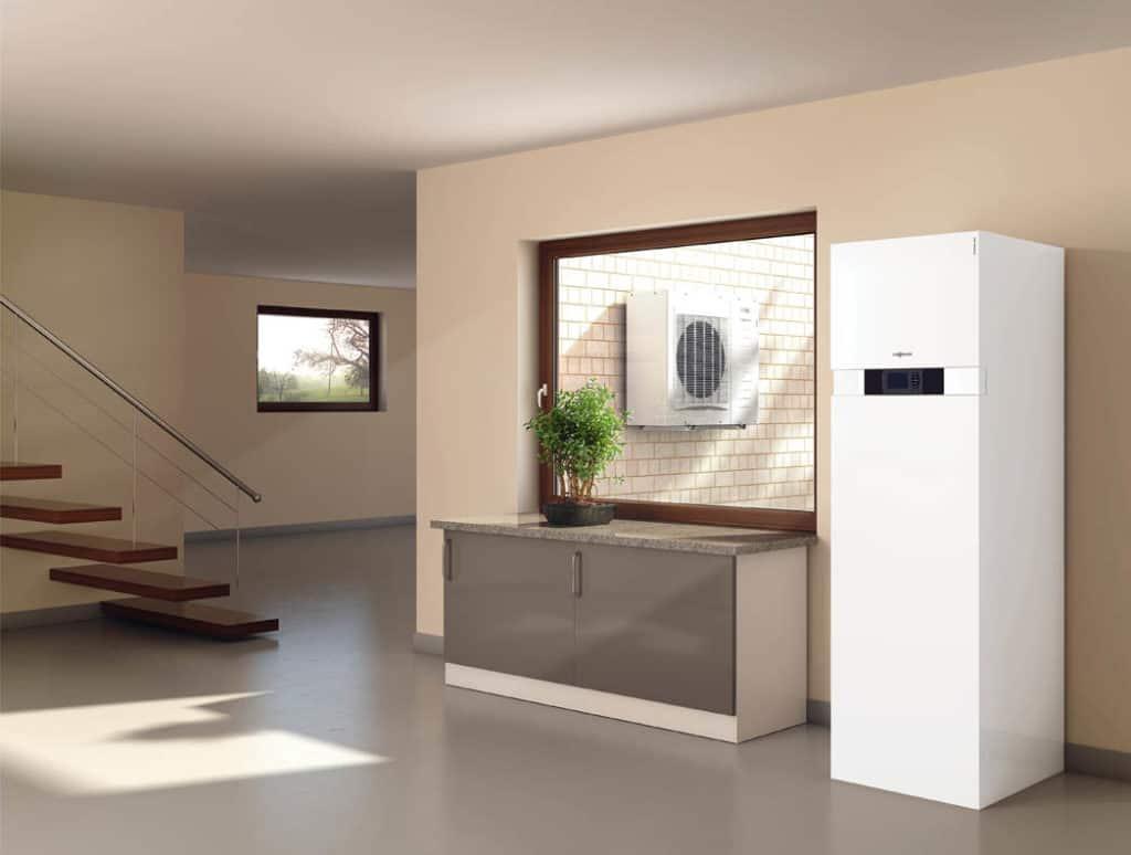 Tepelné čerpadlá vhodné do bytov