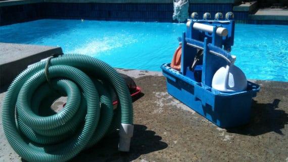 Príprava bazénu na leto