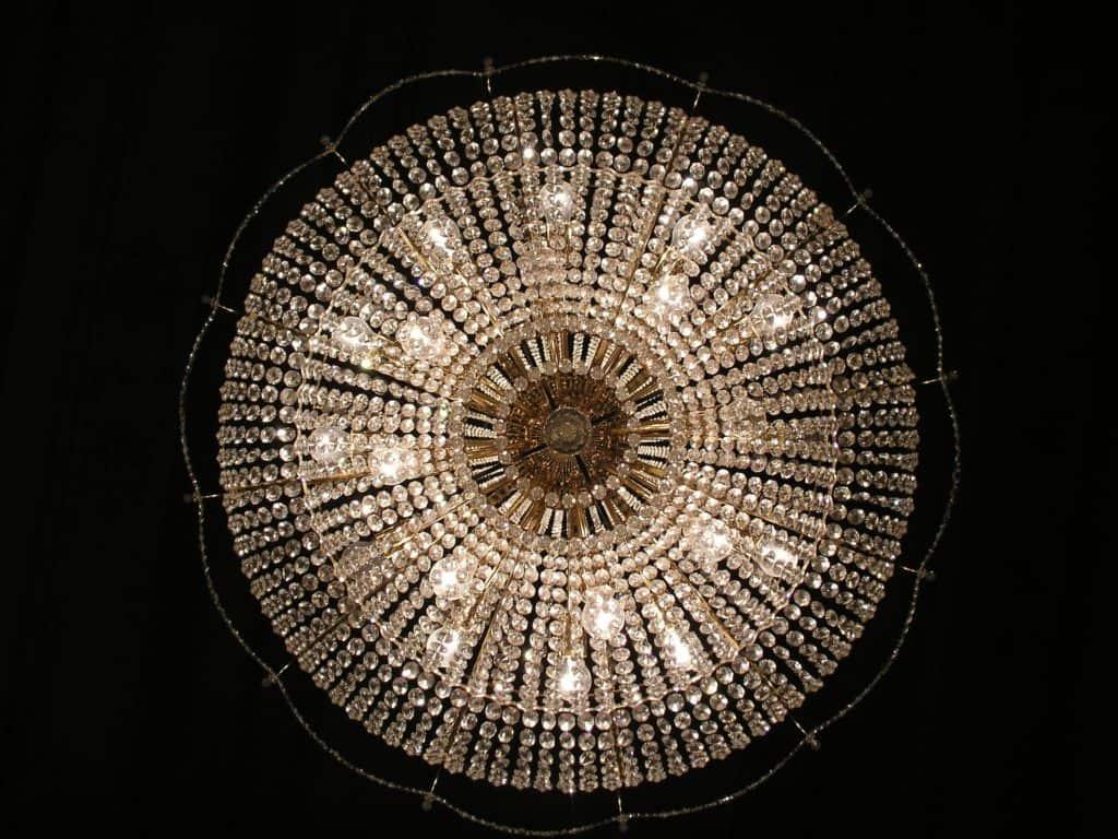 Luxusne pôsobiace lustre
