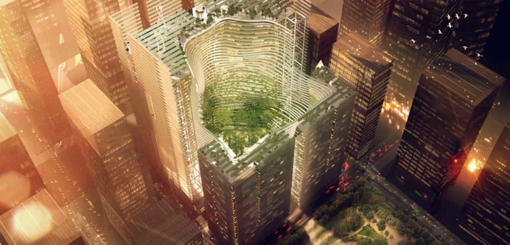 viacúčelový komplex budov