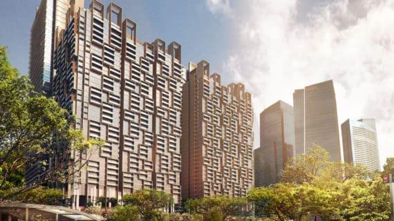 ROCKWOOL chráni unikátnu rezidenciu Marina One v Singapure