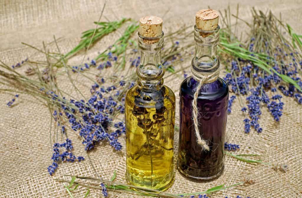 aromatický levanduľový olej