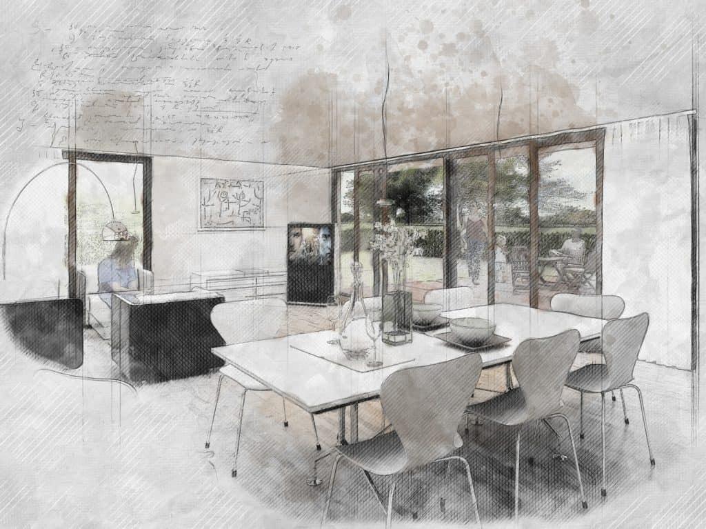 4 zásady interiérového dizajnu – komfort, priestrannosť, čistota, harmónia
