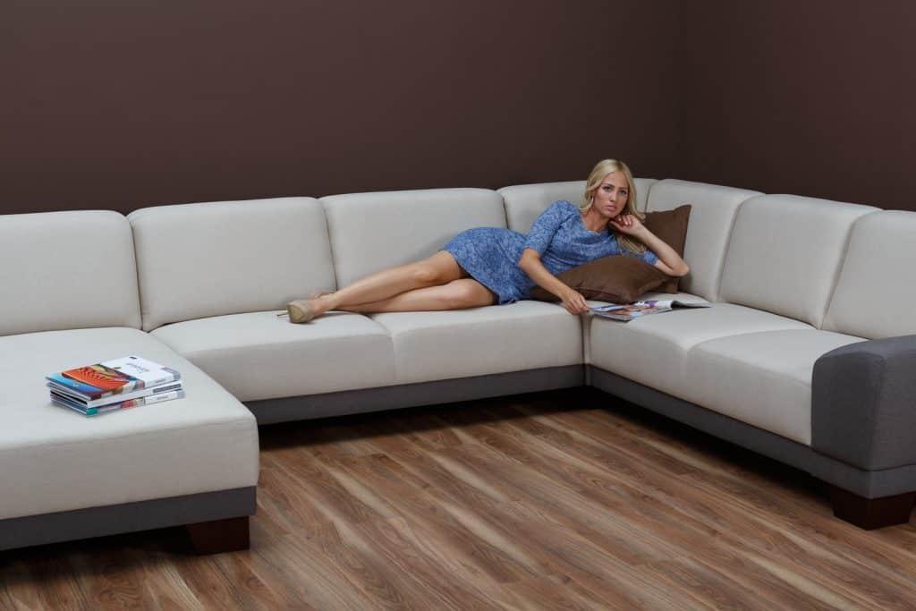 Pohodlné a moderné sedačky