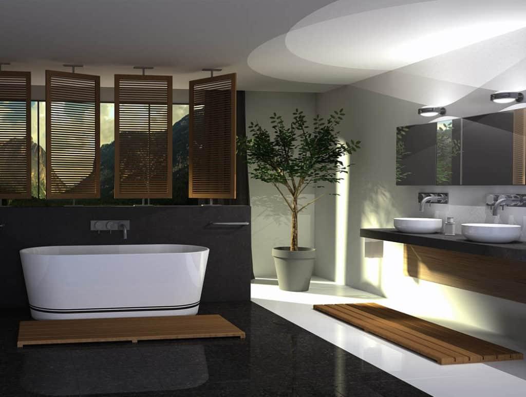 Aktuálne trendy pre štýlový dizajn kúpeľní