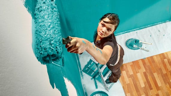 Ako efektne upraviť steny