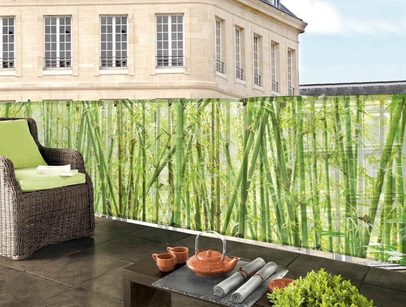 sieť-bambusový plot