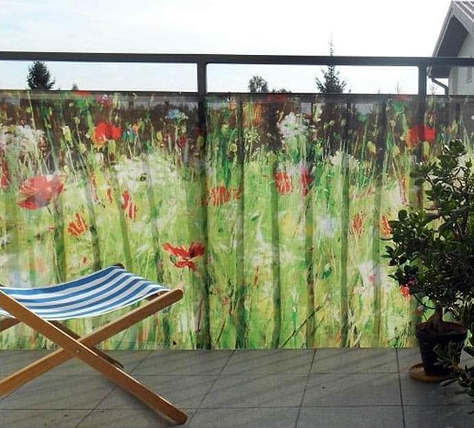 plot s imitáciou kvetinovej lúky