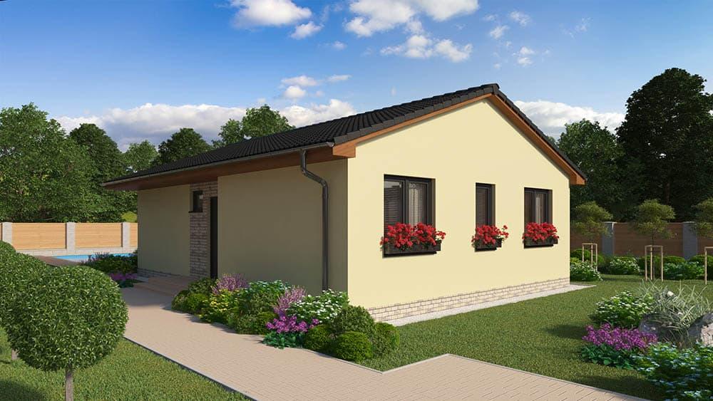 montovaný nízkoenergetický dom