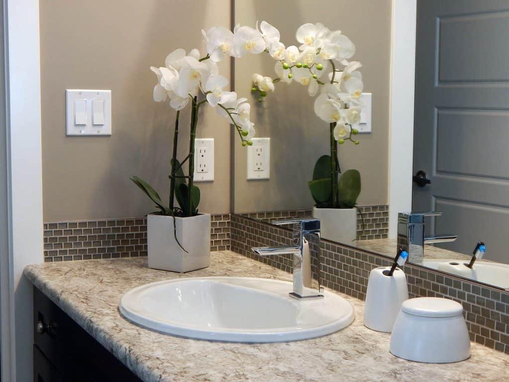 Kvety do vašej kúpeľne