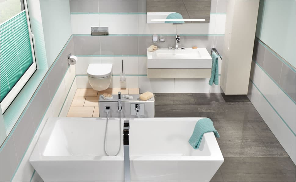 Nápady pre modernú kúpeľňu