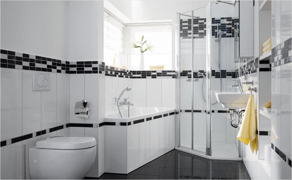 Veľké triky pre malú kúpeľňu