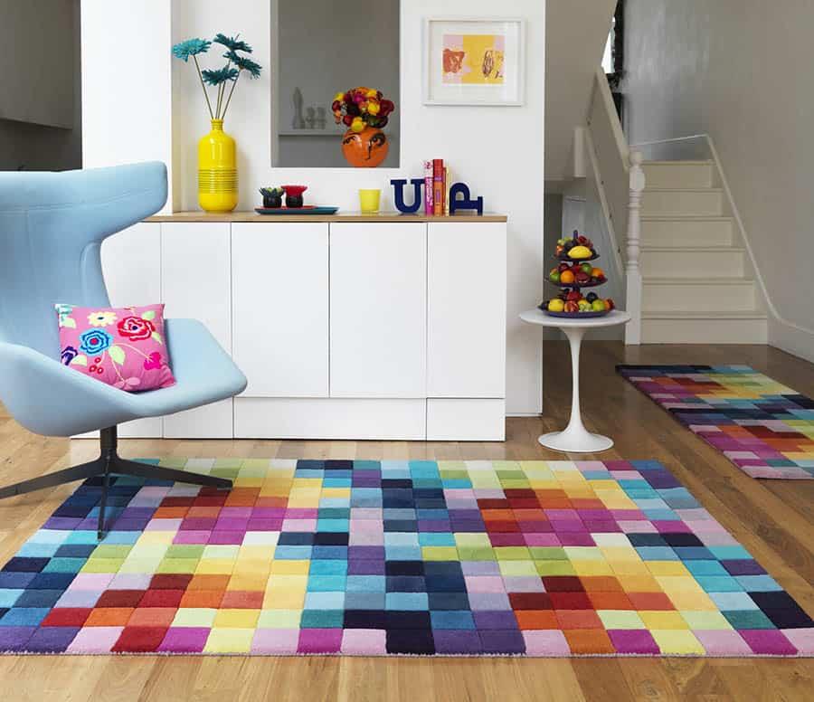 Dizajnový koberec