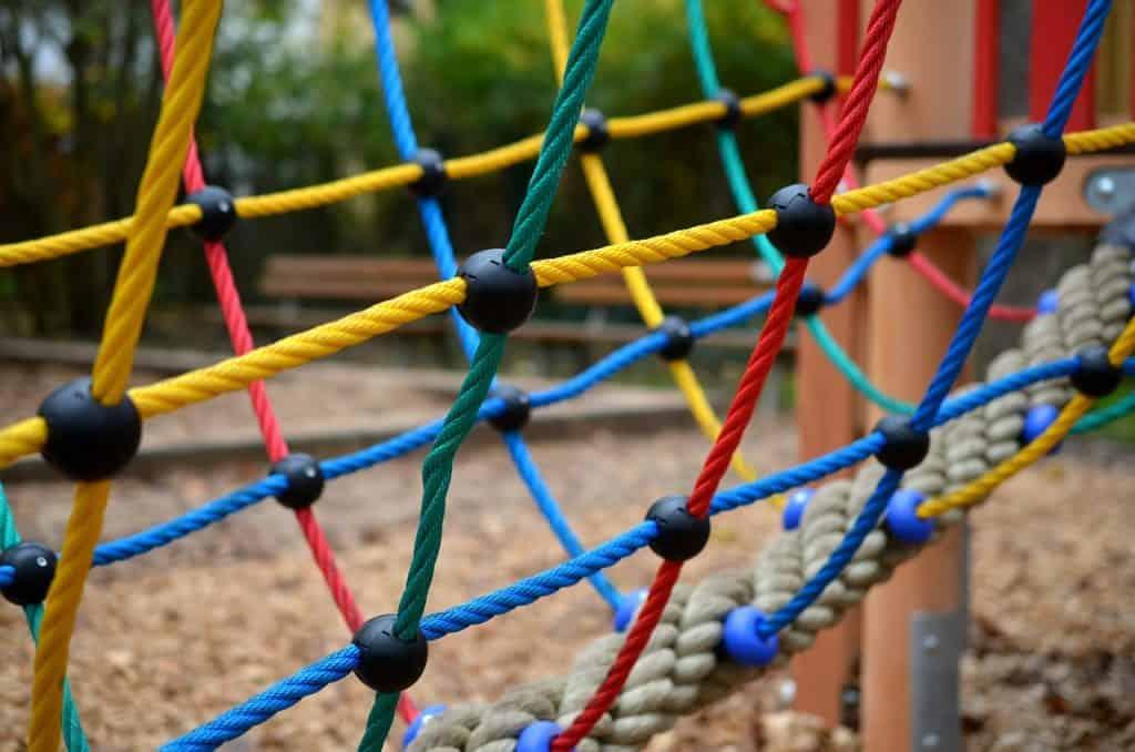 Detské ihrisko ako súčasť záhrady