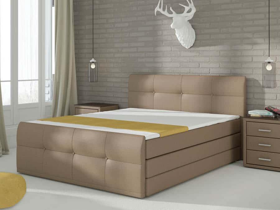 manzelska postel boxspring palermo