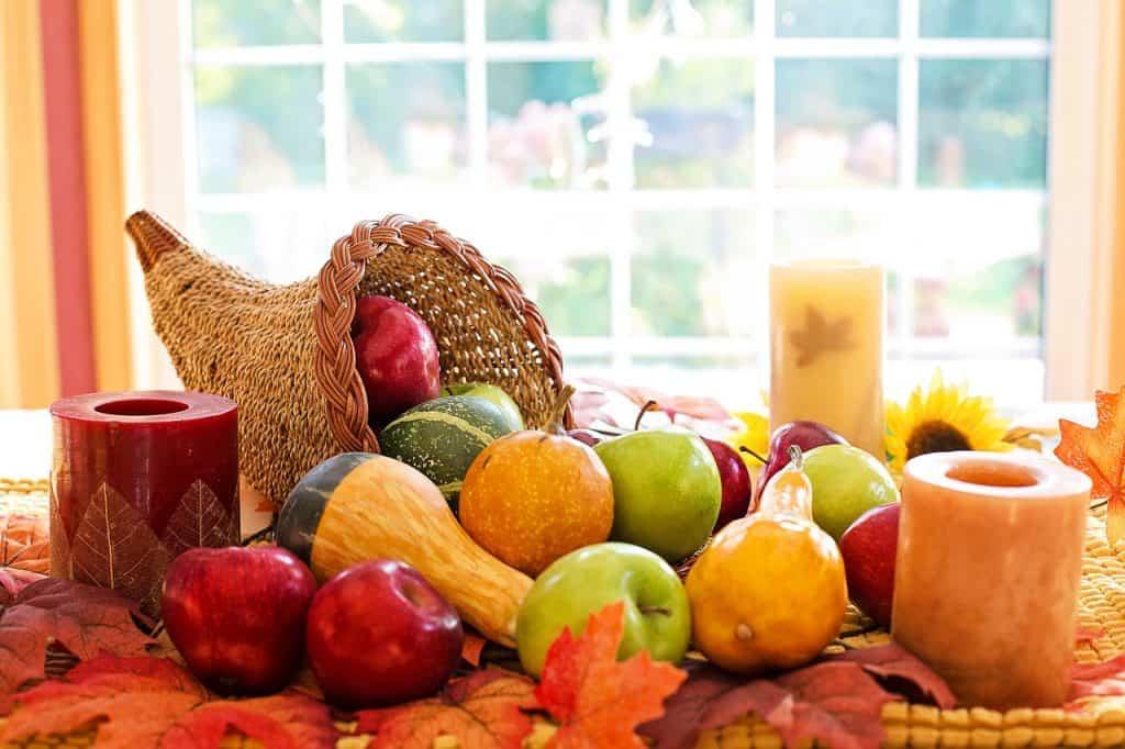 Jeseň a jesenné dekorácie