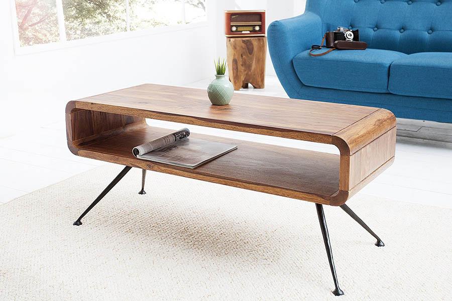 retro konferenčný stolík