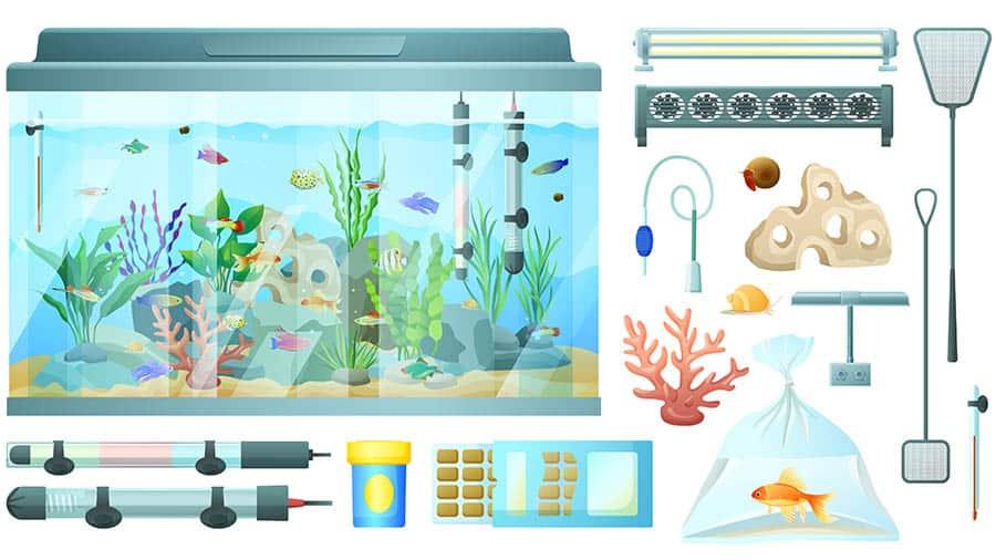 Zariadenie akvária