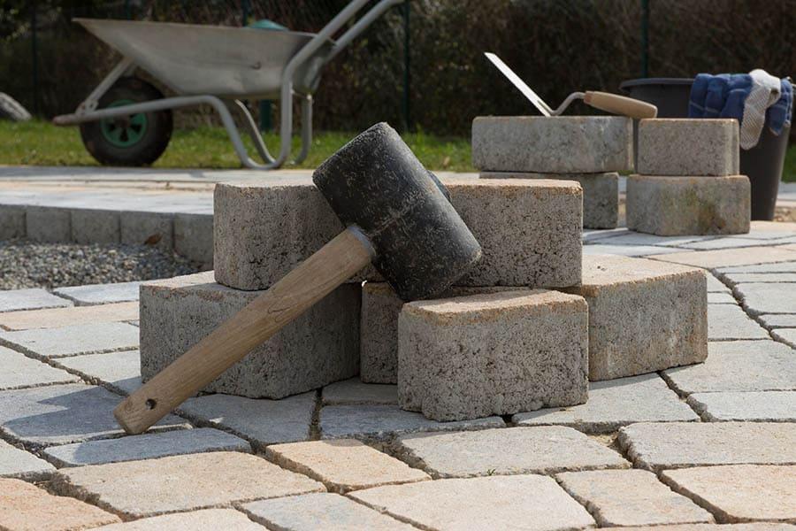 Dlažba do záhrady - betónová