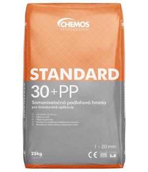 Samonivelačná podlahová hmota Standard 30+PP krivá podlaha