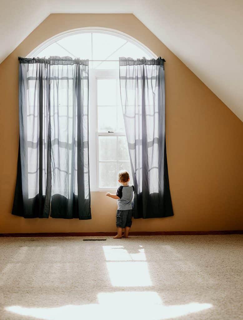 Záclony v detskej izbe