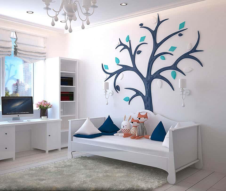 Zariadená detská izba