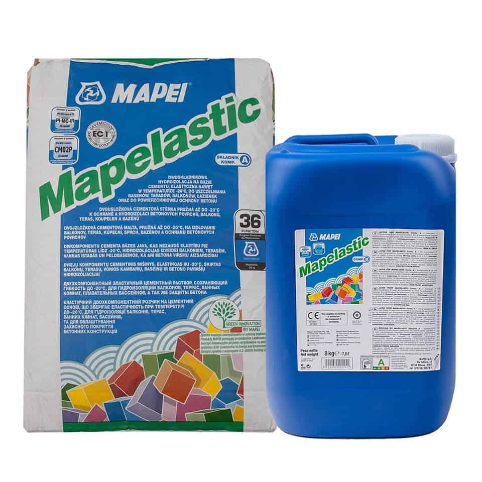 Mapei Mapelastic hydroizolácia základov