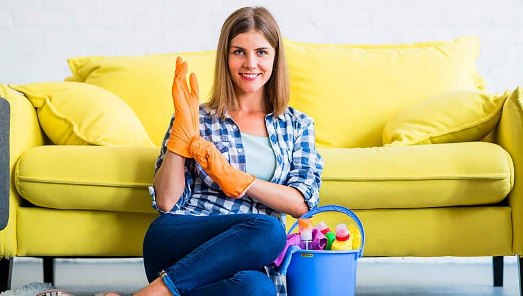 Čistiace prostriedky a jarné upratovanie domácnosti
