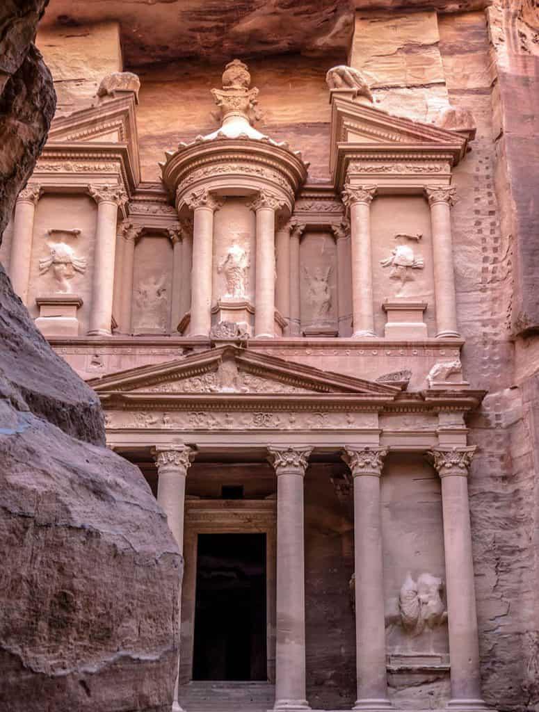 Al-Khazneh - Pokladnica - Petra - Jordánsko