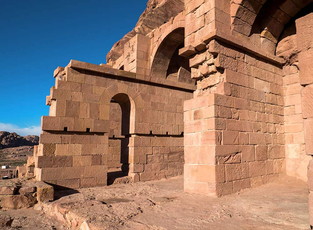 Skalné mesto Petra - Jordánsko