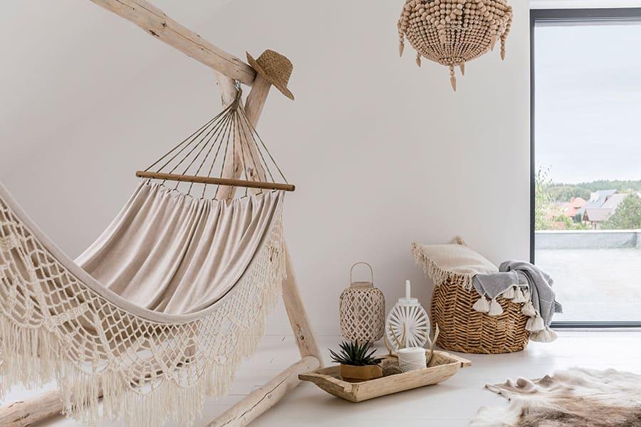 Spojenie domáceho štýlu s exotickými prvkami