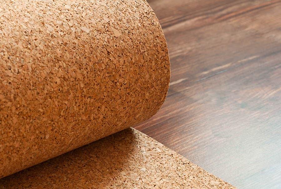 Korková podlaha - korok